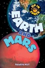 Up in Space: Earth and Mars (QED Reader) (Up in Space)