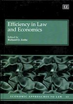 Efficiency in Law and Economics (Economic Approaches to Law Series, nr. 43)