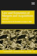 Law and Economics of Mergers and Acquisitions (Economic Approaches to Law Series, nr. 39)