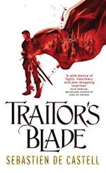 Traitor's Blade (The Greatcoats, nr. 1)