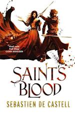 Saint's Blood (The Greatcoats, nr. 3)