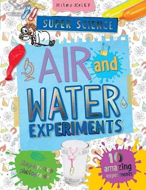 Bog, paperback Super Science Air and Water Experiments af Chris Oxlade