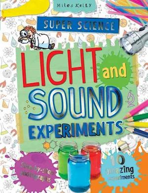 Bog, paperback Super Science Light and Sound Experiments af Chris Oxlade