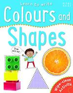 Learn to Write Colours and Shapes (Wipe Clear)