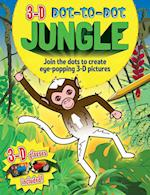 3-D Dot-to-Dot Jungle af Arcturus Publishing