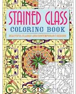 Stained Glass Colouring Book
