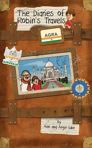 Bog, paperback The Diaries of Robin's Travels: Agra