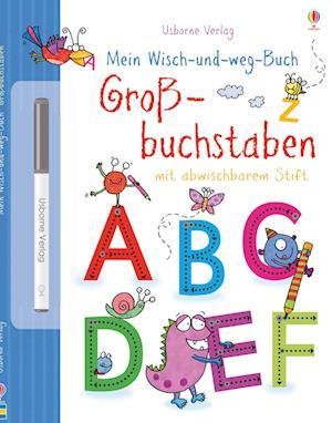 Mein Wisch-und-weg-Buch: Großbuchstaben