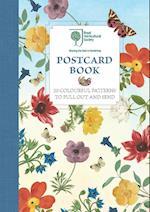 Royal Horticultural Society Postcard Book