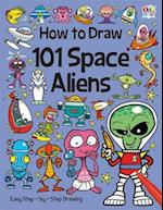 How to Draw 101 Space Aliens af Nat Lambert