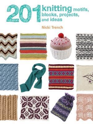 Bog, paperback 201 Knitting Motifs, Blocks, Projects, and Ideas af Nicki Trench