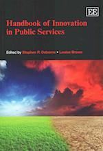 Handbook of Innovation in Public Services (Elgar Original Reference)