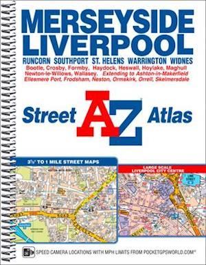 Merseyside A-Z Street Atlas