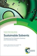 Sustainable Solvents (Green Chemistry Series, nr. 49)