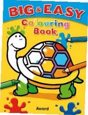Big & Easy Colouring Books: Tortoise