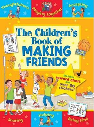 Bog, paperback The Children's Book of Making Friends af Sophie Giles
