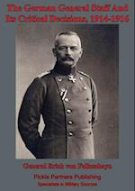 German General Staff And Its Decisions, 1914-1916