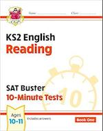 KS2 English SAT Buster 10-Minute Tests: Reading - Book 1 (for the tests in 2018 and beyond)