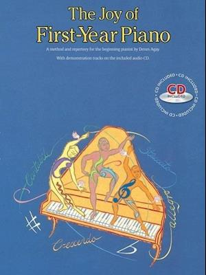 Bog, paperback The Joy Of First-Year Piano (With CD) af Denes Agay