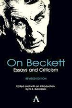 On Beckett (Anthem Studies in Theatre and Performance)