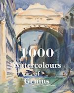 1000 Watercolours of Genius (Book)