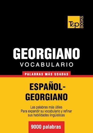 Vocabulario español-georgiano - 9000 palabras más usadas