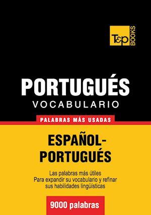 Vocabulario español-portugués - 9000 palabras más usadas