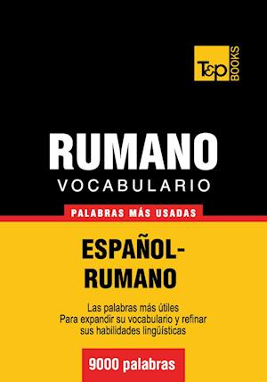 Vocabulario español-rumano - 9000 palabras más usadas