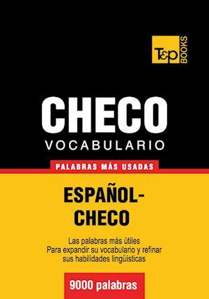 Vocabulario español-checo - 9000 palabras más usadas