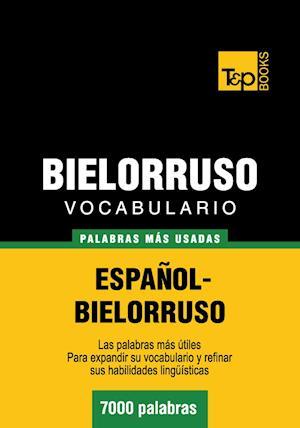 Vocabulario español-bielorruso - 7000 palabras más usadas