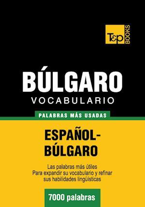 Vocabulario español-búlgaro - 7000 palabras más usadas