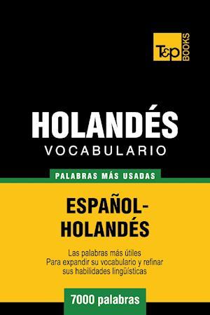 Vocabulario español-holandés - 7000 palabras más usadas