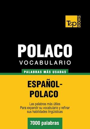 Vocabulario español-polaco - 7000 palabras más usadas