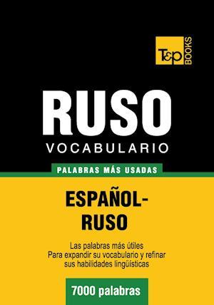 Vocabulario español-ruso - 7000 palabras más usadas