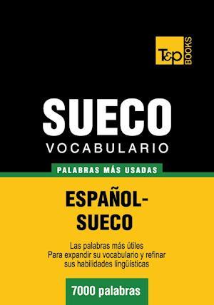 Vocabulario español-sueco - 7000 palabras más usadas