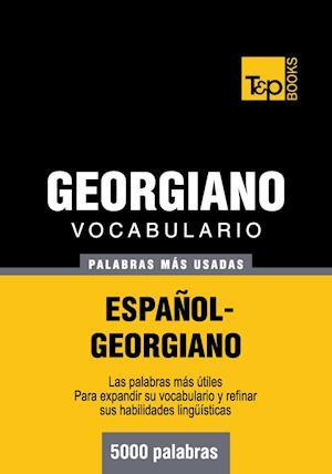 Vocabulario español-georgiano - 5000 palabras más usadas