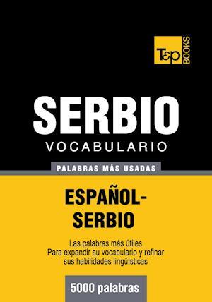 Vocabulario español-serbio - 5000 palabras más usadas