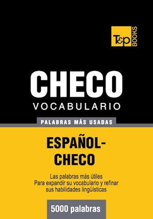 Vocabulario español-checo - 5000 palabras más usadas
