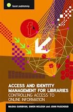 Access and Identity Management for Libraries af Simon McLeish