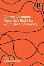 Getting Resource Discovery Right for your Community af Simon McLeish