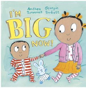 Bog, hardback I'm Big Now af Anthea Simmons
