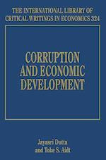 Corruption and Economic Development (The International Library of Critical Writings in Economics Series, nr. 324)