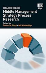 Handbook of Middle Management Strategy Process Research (Research Handbooks in Business and Management Series)