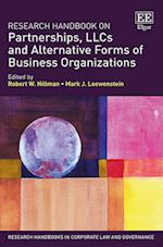 Research Handbook on Partnerships, Llcs and Alternative Forms of Business Organizations (Research Handbooks in Corporate Law and Governance Series)