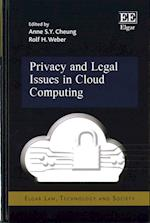Privacy and Legal Issues in Cloud Computing (Elgar Law Technology and Society Series)