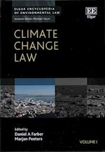 Climate Change Law (Elgar Encyclopedia of Environmental Law Series, nr. 1)