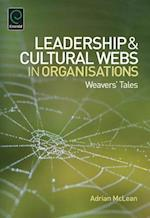 Leadership and Cultural Webs in Organisations af Adrian McLean