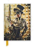 Steampunk Lady (Foiled Journal) af Flame Tree
