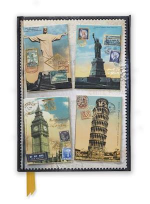 Vintage Postcards (Foiled Journal)