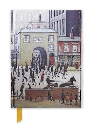 L. S. Lowry: Coming from the Mill (Foiled Journal)